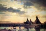 Альберт Бирштадт. Индейская деревня