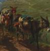 Испанские пастухи, пересекающие Пиренеи. Фрагмент