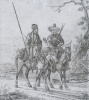 Два всадника-башкира