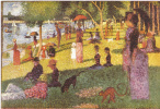 "Georges Seurat. Sketch of ""Sunday afternoon on the island of La Grande Jatte"""