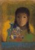 Женщина с полевыми цветами