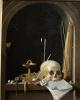 Натюрморт с черепом в нише