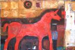 «Красный Единорог» из цикла ТЕРРИТОРИЯ