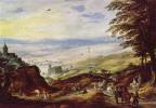 Йос де Момпер Младший. Пейзаж с дальним видом