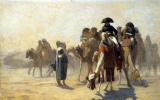 Жан-Леон Жером. Генерал Бонапарт со своим штабом в Египте