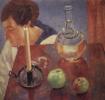 Свеча и графин
