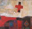 "«Происхождение Креста 2"", 2002, х.м., 150 х 170"
