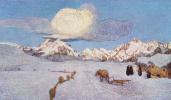 Alpine triptych. Death