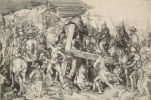 Martin Schongauer. The large carrying of the cross