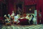 А.П.Волынский на заседании кабинета министров. 1875