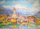 """Cathedral,Svetitskhoveli Cathedral"""" in Mtskheta"""