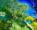 Bush. Van Gogh. Copy