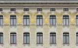 Золотые медальоны, фасад, жилой дом на улице Линке-винцайле 38