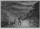 Шарль-Франсуа Добиньи. Серия Альбом путешествия в лодке, В поисках постоялого двора, второе состояние