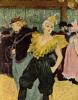 Clowness Sha-U-Kao in Moulin Rouge