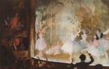 Константин Андреевич Сомов. Русский балет. Елисейские поля. Сильфиды
