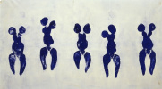 Anthropometry of the blue period