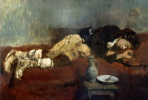 Вильгельм Мария Хубертус Лейбль. Спящий мальчик-савояр