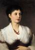 Портрет женщины в национальном костюме