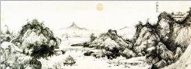 Ван Фу. Пейзаж 001