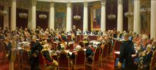 Торжественное заседание Государственного совета 7 мая 1901 года, в день столетнего юбилея со дня его учреждения