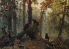 Ivan Ivanovich Shishkin. Morning in a pine forest. Sketch