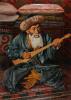 Portrait of the national akyn Zhambyl