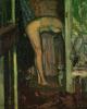 Женщина, моющая голову