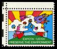 Illustration on a postage stamp