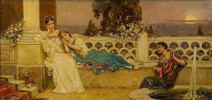 Evening on the terrace (Serenade)