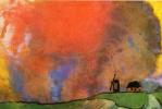 Эмиль Нольде. Красное небо