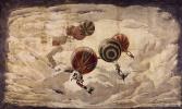 Хосе Мария Серт. Средиземноморская фантазия. Эскиз декорации бального зала особняка Мдивани