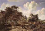 Мейндерт Хоббема. Лесной пейзаж