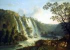 Якоб Филипп Хаккерт. Вилла Мецената и водопады в Тиволи