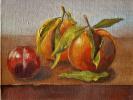 Натюрмора с апельсинами