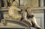 Микеланджело Буонарроти. Гробница Джулиано Медичи. День.