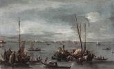 Франческо Гварди. Смотря на лагуну Мурано от Фондамента Нуове