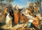 Федор Антонович Моллер. Апостол Иоанн Богослов, проповедующий на острове Патмосе во время вакханалий