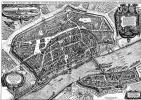 Маттеус Мериан Старший. Франкфурт-на-Майне, панорамный план