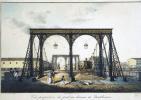 Карл Петрович Беггров. Вид Цепного Пантелеймоновского моста через Фонтанку