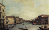 Giovanni Antonio Canal (Canaletto). The Grand canal