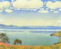 View of lake Geneva with Sabre