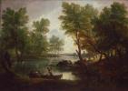 Томас Гейнсборо. Пейзаж рядом с Королевским Бромли, на Тренте, Стаффордшир