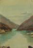 Lake Amtkel. Abkhazia