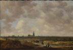 Ян ван Гойен. Вид на Гаагу с северо-запада