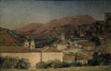 Александр Андреевич Иванов. Вид города. Субиако. 1831-1834 Этюд