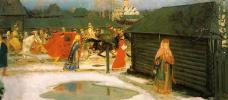 Wedding train in Moscow