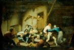 Адриан Янс ван Остаде. Крестьяне, веселящиеся в таверне