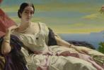 Франц Ксавер Винтерхальтер. Великая княгиня Леонилла Сайн-Витгенштейн-Сайн, урожденная Барятинская. Фрагмент