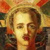 Портрет поэта-футуриста В. А. Каменского
